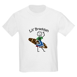 Lil' Braddah Toddler T-Shirt