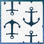 Outdoor Anchors Throw Pillow