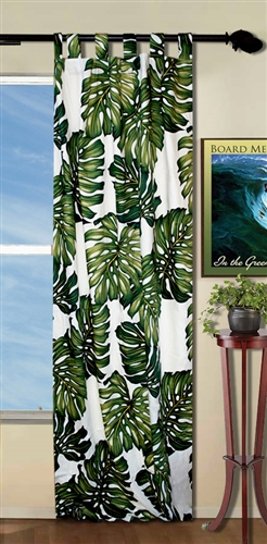 Palm Tree Curtains By Designer Dean Miller