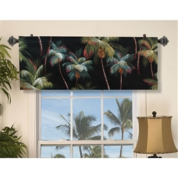 Palm Tree Valance