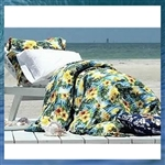 Paradise Abound Duvet Cover