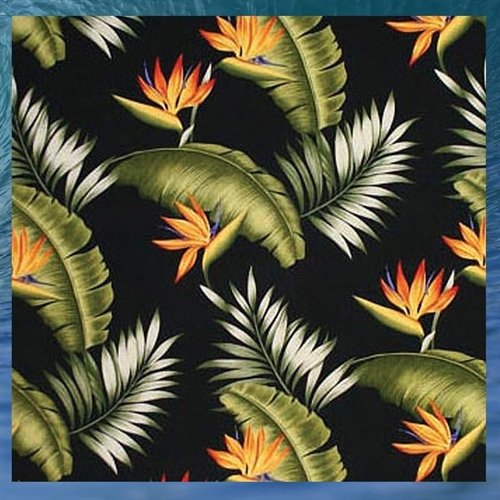birds of paradise fabric by dean miller