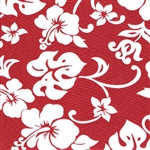 Valance - Red Hibiscus