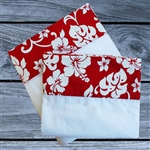 Red Hibiscus Sheet Set