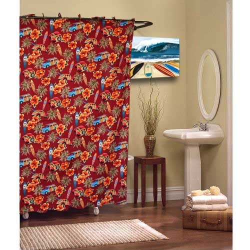 Red And Turquoise Shower Curtain. Better off Red Shower Curtain  deanmillerprints com