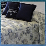 Sea Shell Bedspread