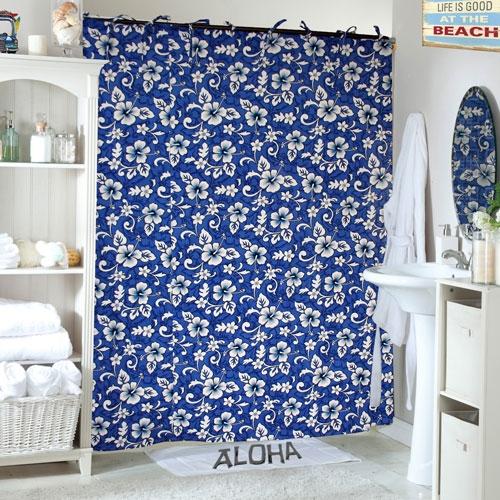 Sea Shelf Shower Curtain