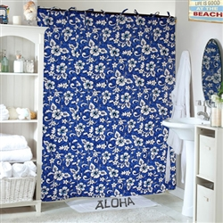 Sea Shelf Shower Curtain