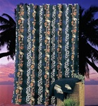 Hawaiian Tropical Shower Curtain
