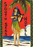 South Seas Hotel Sign