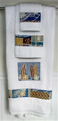 Sunset Beach Bath Towel Set