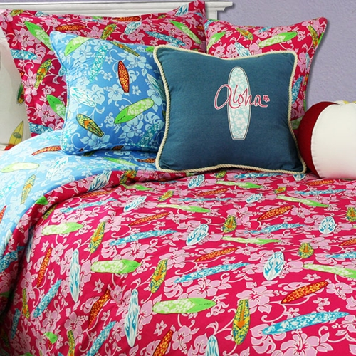 Surfer Girl Comforter Set by Surf Designer Dean Miller : surf quilt cover - Adamdwight.com