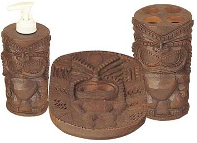 Charmant Tiki Bathroom Tiki Bathroom Set