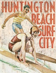 Surf City Wall Sign