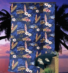 Tradewind Trolly Shower Curtain