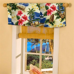 Hawaiian Window Valances