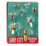 Surfers in Water Sign