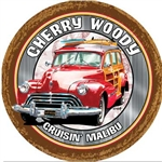 Custom Wood Woody Car Sign