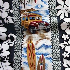 Woody Car Shower Curtain
