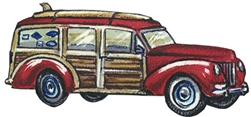 Woody Car Removeable Wall Decal