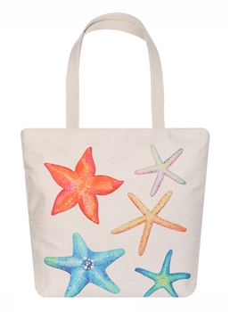 Multi Starfish Canvas Bag AO8026