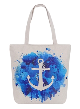 Anchor Nautical Ocean Canvas AO822