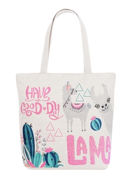 Good Day Llama Canvas AO833