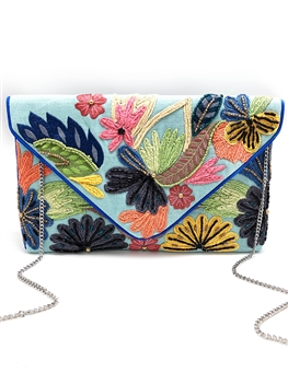 Blue Spring Clutch Bag AP-LA-2001