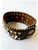 Retro Crystal Leather Bracelet B1398