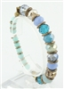 Crystal Metal Mixed Bracelet B1412