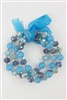 Mix Crystal Beaded Bracelet Set B1499