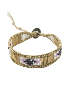 Crystal Beaded Bracelets B1580