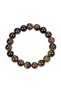 Tigers Eye Stone Stretch Bracelets B1592