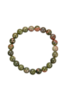 Unakite Stone Stretch Bracelets B1594 - 8MM