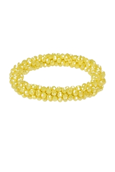 Strand Crystal Beaded Stretch Bracelets B1662