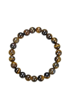 Tigers Eye Natural Stone Bracelet B1727 - 8MM