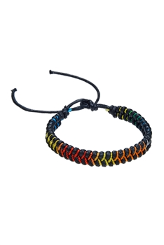 Braided Rope Bracelets B1999 - Black