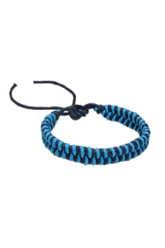 Braided Rope Bracelets B1999 - Blue