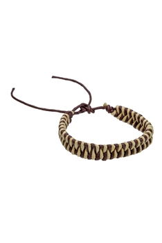 Braided Rope Bracelets B1999 - Brown