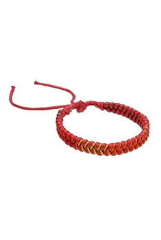 Braided Rope Bracelets B1999 - Red