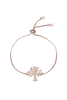 Zircon Tree Of Life Bracelets B2005