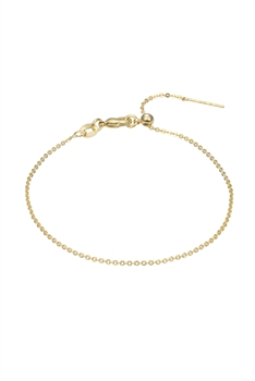 Simple Stretch Chain Bracelet B2008 - Gold