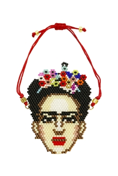 Frida Seed Bead Braided Bracelet B2029