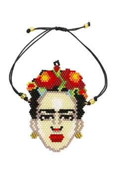 Frida Seed Bead Braided Bracelet B2037