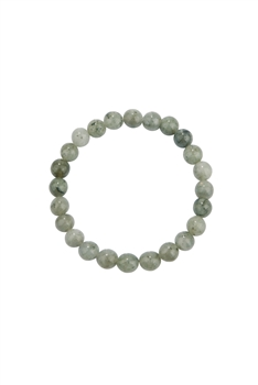 Labradorite Stone Statement Stretch Bracelet B2050 - 8MM