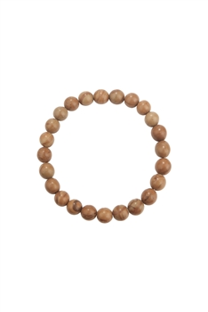 Woodenline Jasper Stone Stretch Bracelet B2052 - 8MM