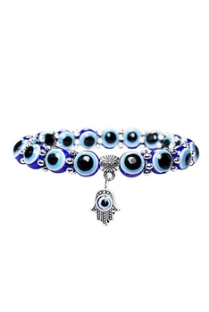 Against Evil Eye Beads Bracelets B2117
