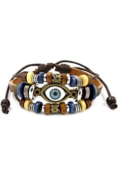 Against Evil Eye Braided Bracelets B2136