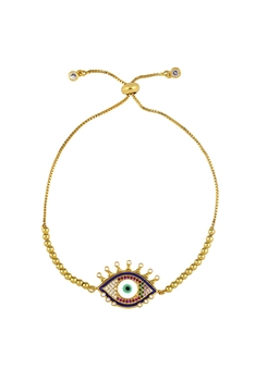 Against Evil Eye Metal Bracelets B2146 - NO.5