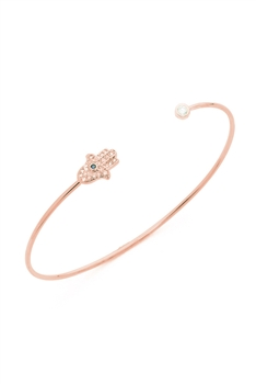 Palm Metal Bracelets B2152 - Rose Gold
